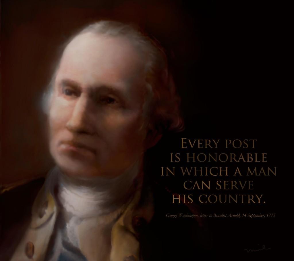 Washington Portrait Darker w Type Only